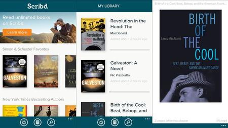 Scribd en Windows Phone