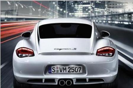 Los nuevos Porsche Boxster y Cayman 2009