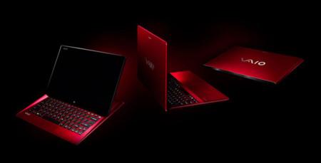 Sony presenta portátiles en su rojo más pasional