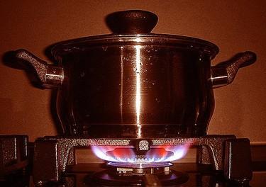 La vida a través de una llama de gas