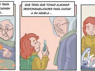 Un cómic para explicar el alzhéimer