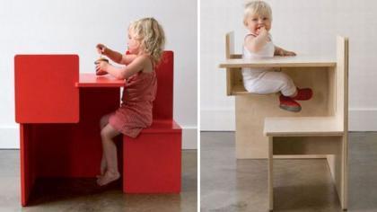 Child Child Chair: mesa para dos