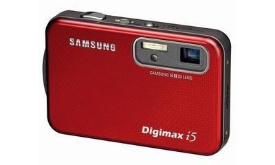 Digimax i5, rojo pasión