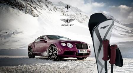 Esquís zai for Bentley. Esquía rápido y elegante, gentleman skier