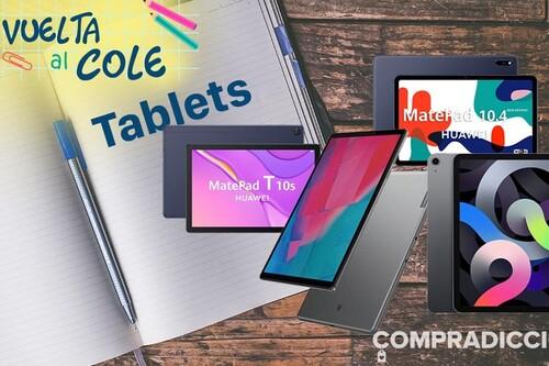 Vuelta al cole 2021: ahorra en tablets con estas ofertas en Amazon, El Corte Inglés y PcComponentes