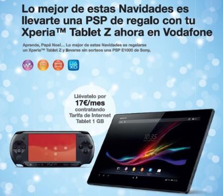Regalos Vodafone Navidad 2013