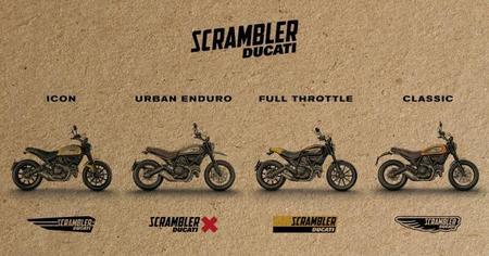 Familia Ducati Scrambler