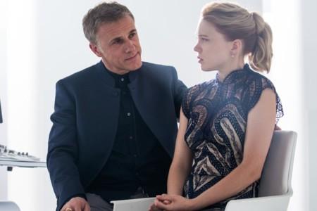 Christoph Waltz y Léa Seydoux en Spectre