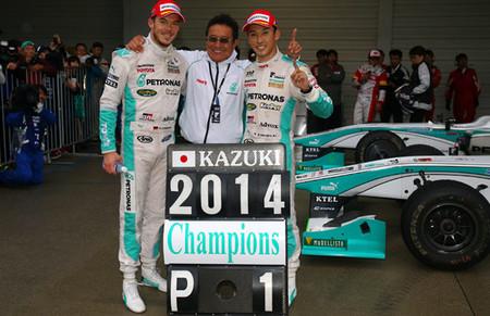 Kazuki Nakajima se proclama campeón de la Super Fórmula por segunda vez