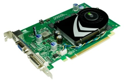 NVidia 9400 GT, la gama media/baja