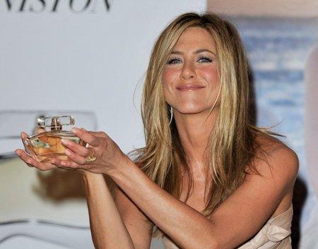 Fracaso de ventas del perfume de Jennifer Aniston