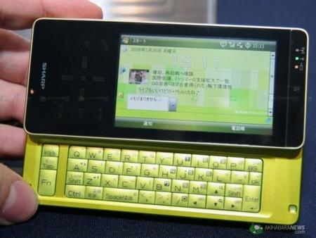 Willcom 03, smartphone completo