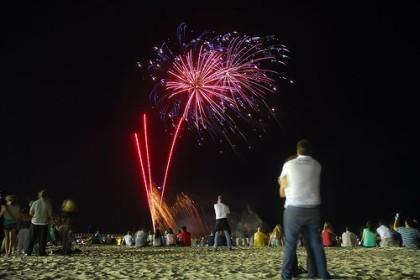 Como fotografiar fuegos artificiales