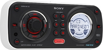 Sony CDX-HD70MW, radio para el mar