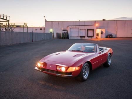 Subastarán otra joya de Ferrari, uno de los 122 Daytona Spider que se produjeron de manera oficial