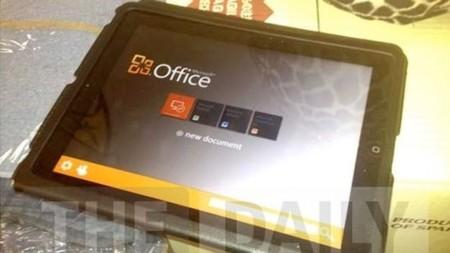 Office en el iPad