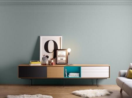 Tres originales muebles de treku for Muebles salon originales
