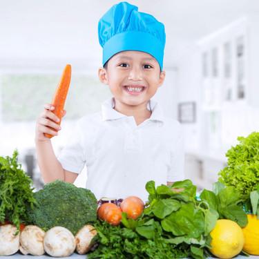 Las recomendaciones de los pediatras sobre cómo planificar una dieta vegetariana completa para los niños, según su edad