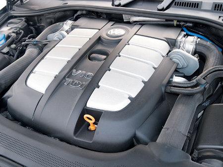 Motor V10 TDI de Volkswagen