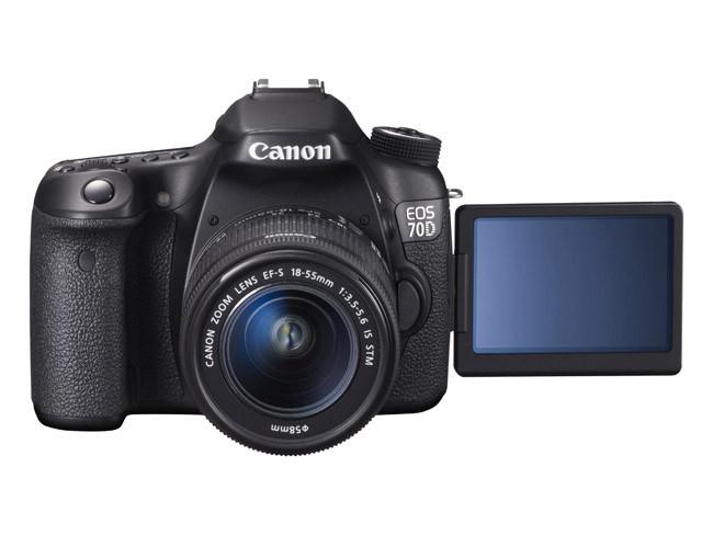 Canon EOS 70D pantalla