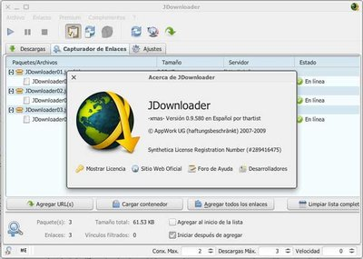 JDownloader, un gestor para descargarlos a todos