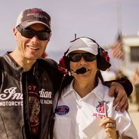 Lee Munro se adelanta a Bonneville y registra 300,43 km/h sobre la Indian Scout Spirit of Munro