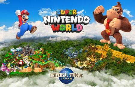 El parque de atracciones Super Nintendo World se ampliará en 2024 con una nueva área dedicada a Donkey Kong
