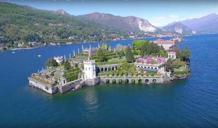 Isola Bella, la isla más bonita de Italia a vista de dron