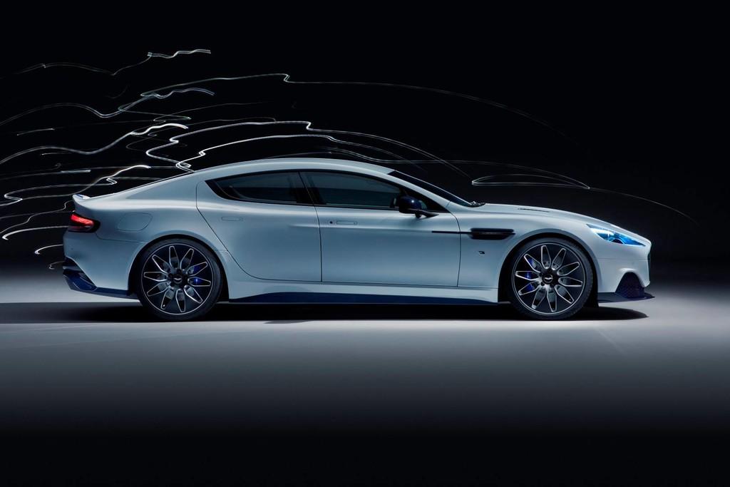 El primer coche eléctrico de Aston Martin es un exclusivo superdeportivo con 610 CV y del que se fabricarán solo 155 unidades