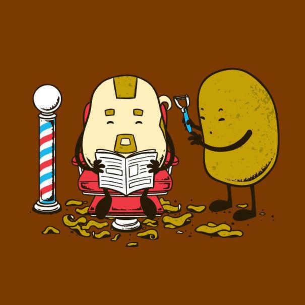Foto de Caricaturas con comida (10/15)