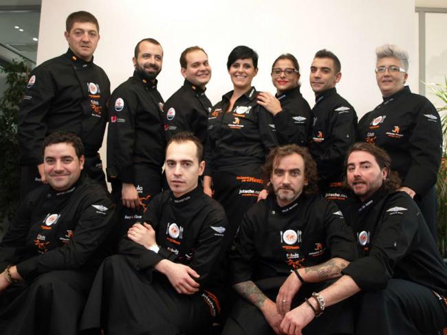 equipo cocineros