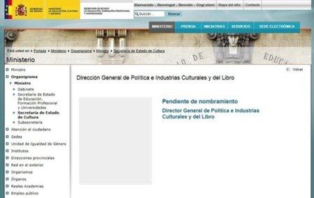 """La Dirección General de Política e Industrias Culturales (y ahora del Libro) sigue sin """"cara"""""""