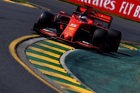 Vettel Albert Park