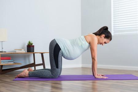 Yoga Embarazo Bitilasana