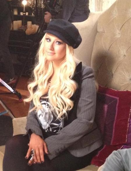 Christina Aguilera la debe estar liando parda y aquí nadie se ha entrado