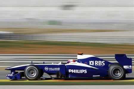 Williams FW32. Presentado directamente en la pista