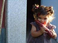 La última trastada de tus hijos: Alba se roba un chorizo