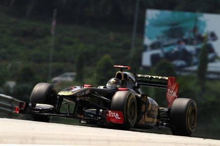 GP de Malasia F1 2011: Lotus Renault GP culpa de los fallos de las suspensiones a un lote defectuoso