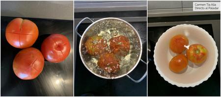 Paso A Paso Tomates Escaldado