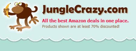 Jungle Crazy, las ofertas estratosféricas de Amazon reunidas en una web