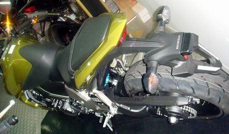 Honda CB1000R: La moto enana