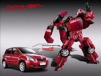 Coches chinos (copiados) se anuncian con un anuncio de los Transformers (copiado)