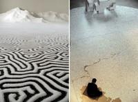 Las fascinantes y emotivas creaciones artísticas con sal de Motoi Yamamoto