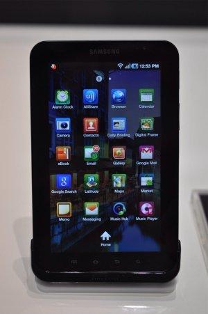 Aplicaciones del Galaxy Tab