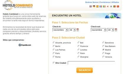 Hotels combined, buscando la mejor oferta hotelera