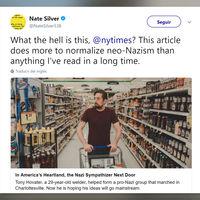 """""""La voz del odio"""": el explosivo artículo del New York Times acusado de blanquear a los nazis"""