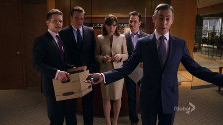 The Good Wife - Cary, Peter, Alicia, Will y Eli
