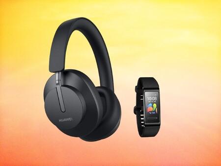 Llévate los nuevos Huawei FreeBuds Studio por 50 euros menos y la pulsera Band 4 pro de regalo: 249 euros en Amazon y Huawei