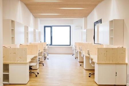 Espacios para trabajar: una agradable oficina en Marsella