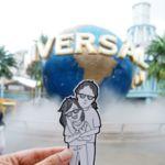 Hacer dibujos en vez de selfies es más divertido para documentar unas vacaciones